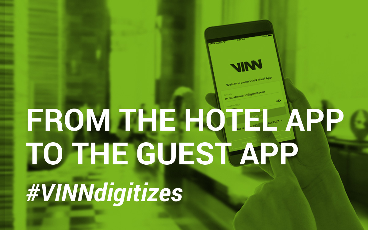 From hotel app to guest app
