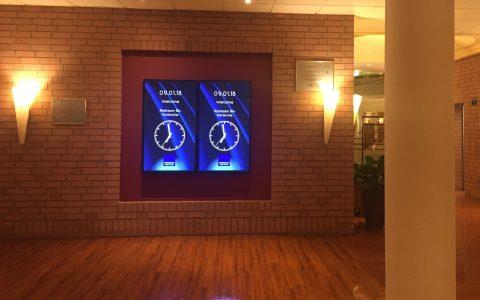 Radisson Blu Hotel Karlsruhe - Digital Signage