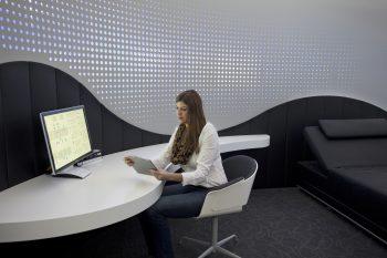 FuturHotel (9) Prototyp eines Hotelzimmers im >>Urban Living Lab<< des Fraunhofer IAO