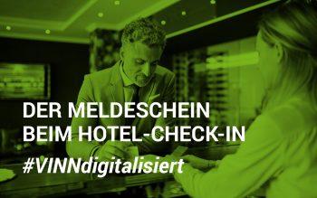 Der Meldeschein beim Hotel Check-In - die erste digitale Hürde