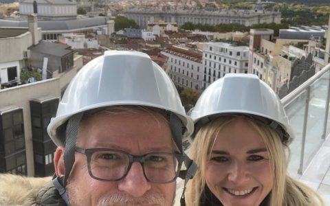VINN outside in Madrid Nov 2018