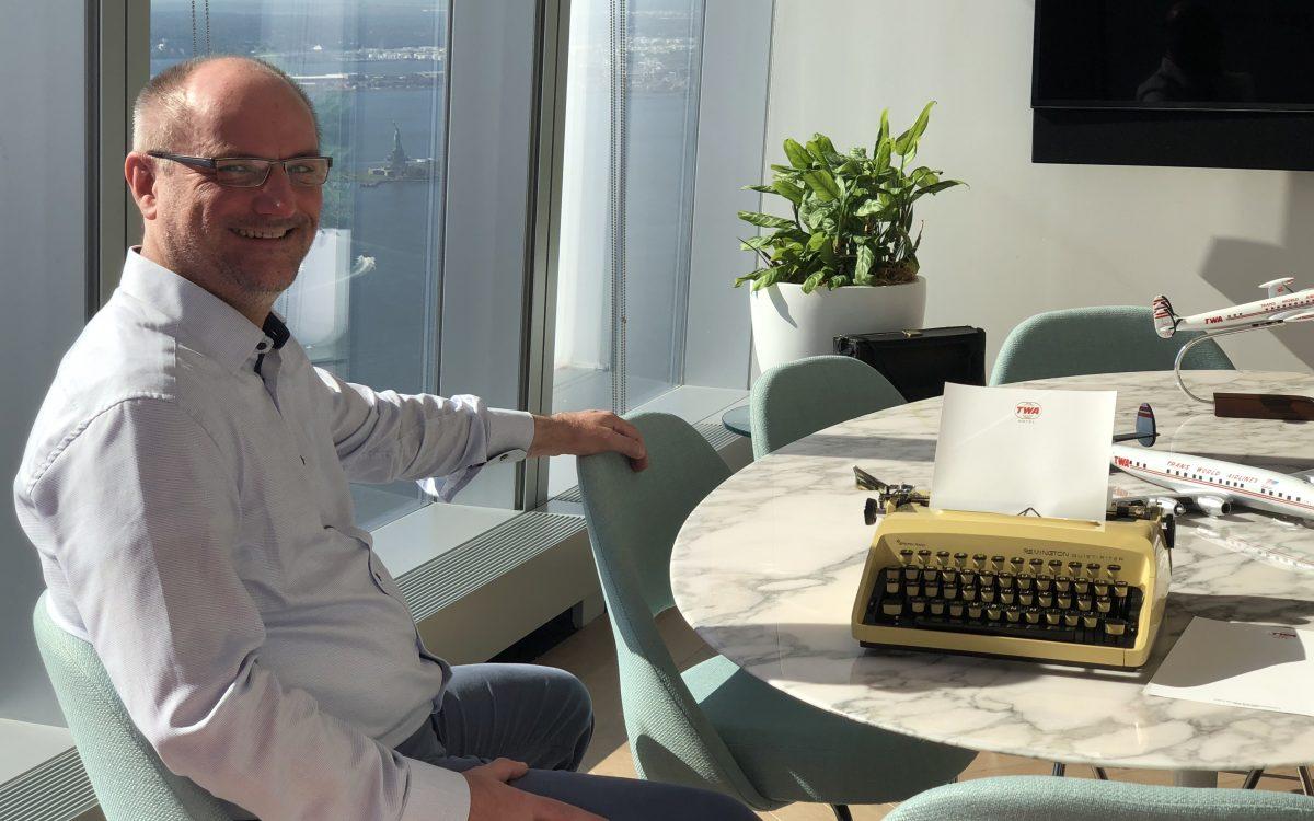 Frank der VINN CEO in New York Okt 2018